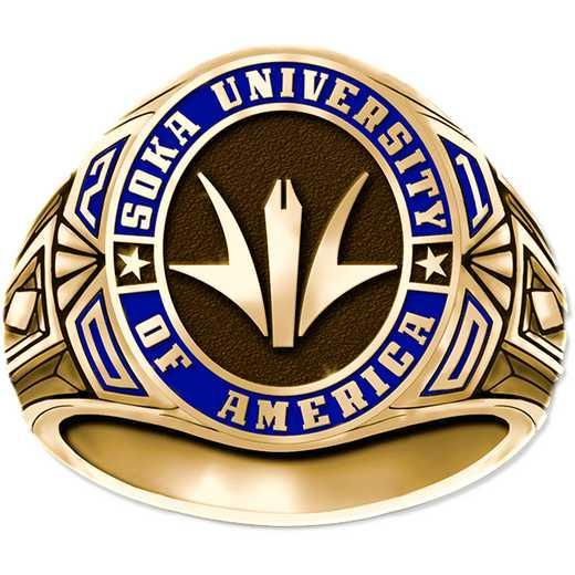 Soka University of America Men's 4799L Signet Ring