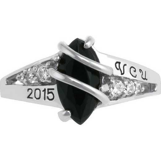 Virginia Commonwealth University Windswept Fashion Ring