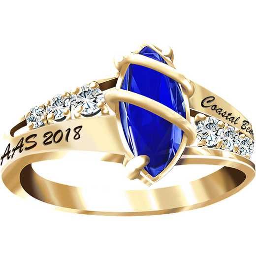 Coastal Bend College Women's Windswept Ring