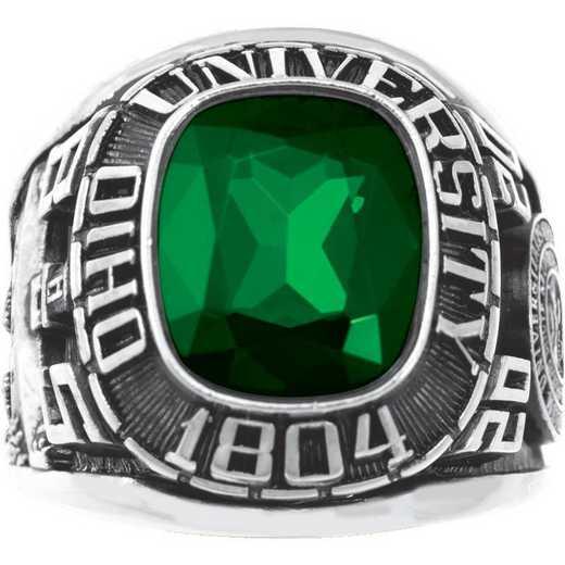 Ohio University Men's Square Traditional Ring
