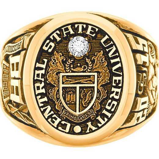 High Point University Men's Arbor Ring