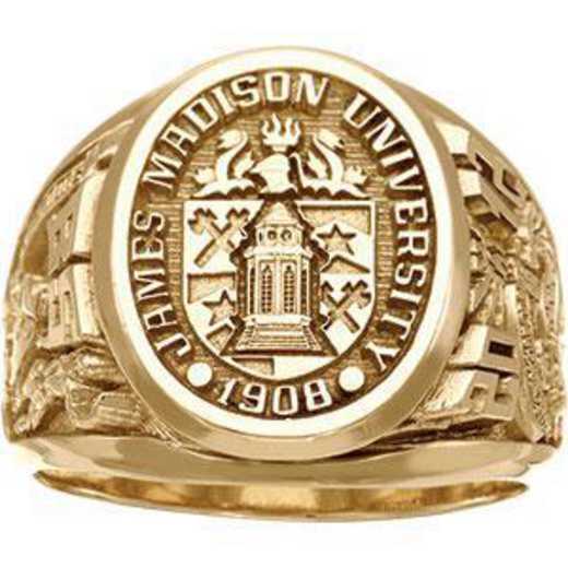 James Madison University Class of 2012 Men's Collegian Ring