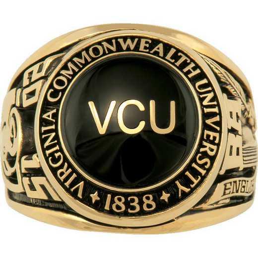 Virginia Commonwealth University Large Scholar with Stone Ring