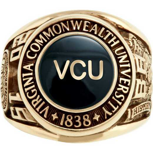 Virginia Commonwealth University Small Scholar with Stone Ring
