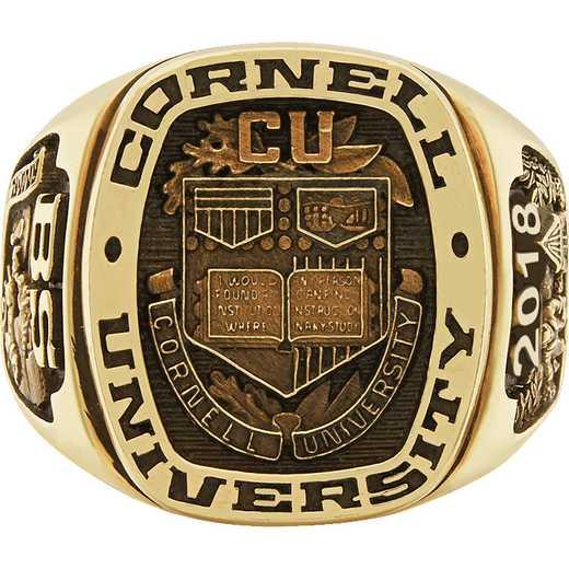 Cornell University Men's Legend Signet Top Ring