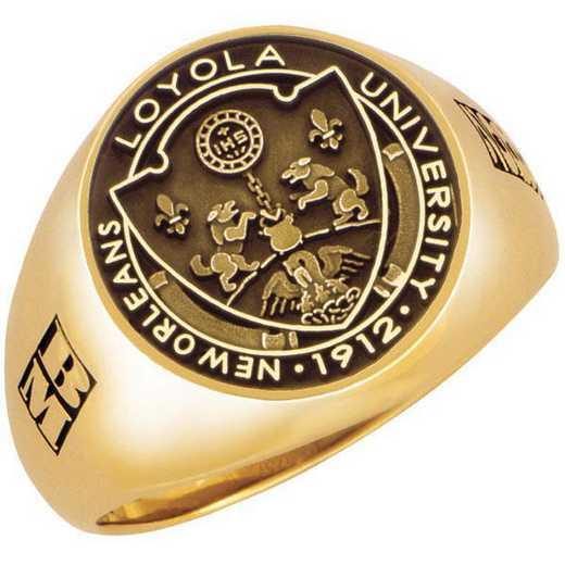 Loyola University New Orleans Men's Ashton Signet Ring