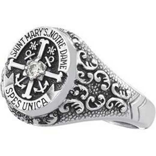 Saint Mary's College Notre Dame Nursing Women's Small Signet Ring