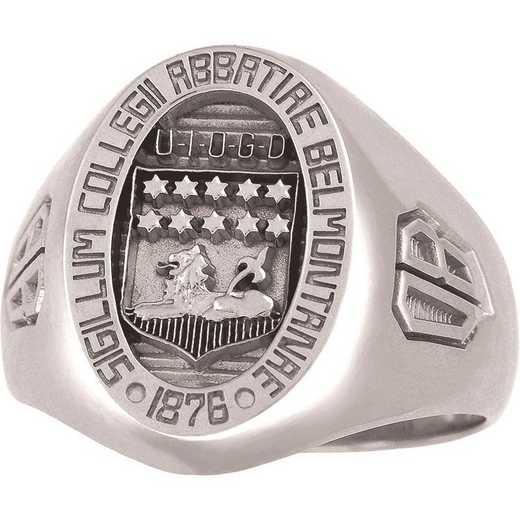Belmont Abbey College Men's Large Signet Ring