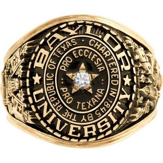 Baylor Law School Men's Large Traditional with Point Size Stone