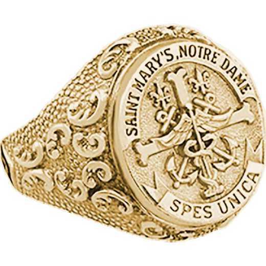 Saint Mary's College Notre Dame Nursing Women's Large Signet Ring