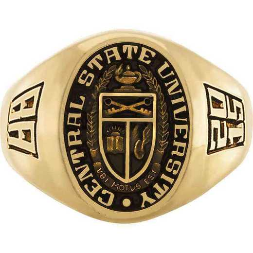 East Tennessee State University Quillen College of Medicine Men's Large Signet Ring