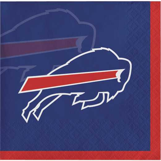DTC659504BNAP: CC Buffalo Bills Beverage Napkins