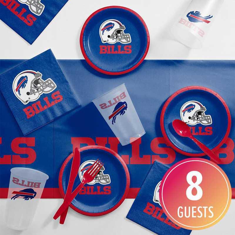 DTC9504C2B: CC Buffalo Bills Tailgating Kit 8 ct