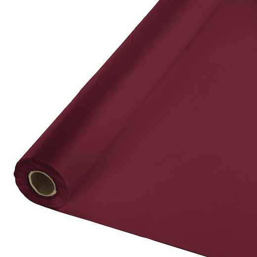 783122: CC Burgundy Banq Roll,250'