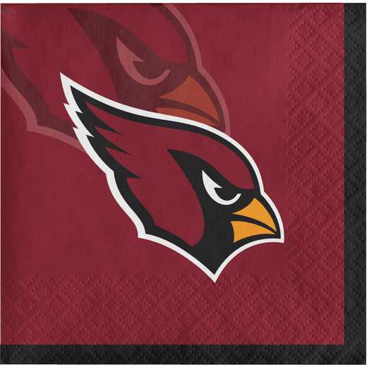 DTC659501BNAP: CC Arizona Cardinals Beverage Napkins