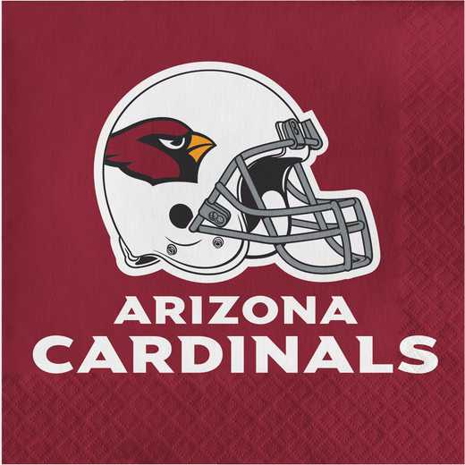 DTC669501NAP: CC Arizona Cardinals Napkins