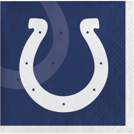 DTC659534BNAP: CC Indianapolis Colts Beverage Napkins