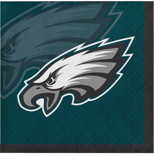 DTC659524BNAP: CC Philadelphia Eagles Beverage Napkins