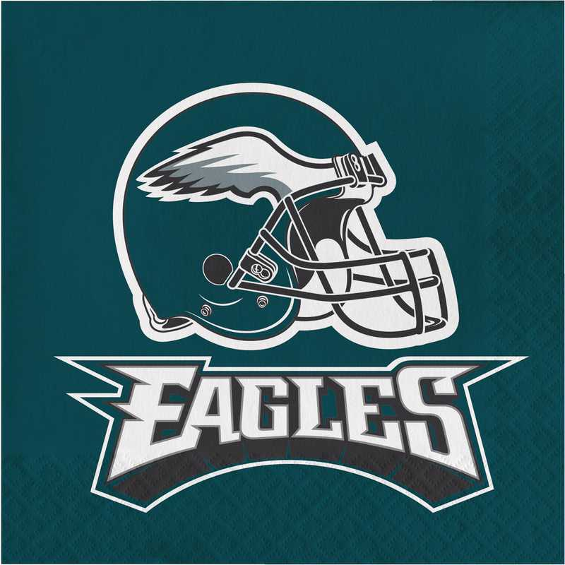 DTC669524NAP: CC Philadelphia Eagles Napkins