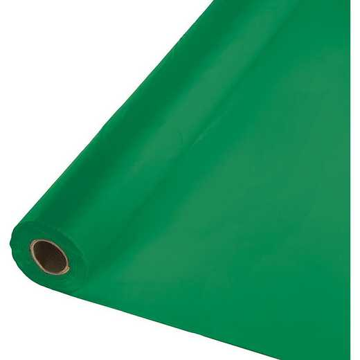 013006: CC Emerald Green Plastic Banq Roll -100'