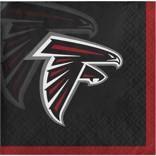 DTC659502BNAP: CC Atlanta Falcons Beverage Napkins