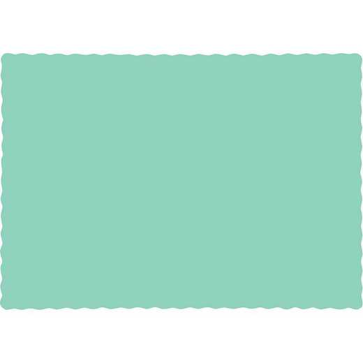 318898: CC Fresh Mint Green Placemats - 50 Cnt