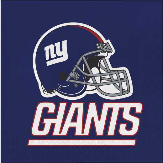 DTC669521NAP: CC New York Giants Napkins