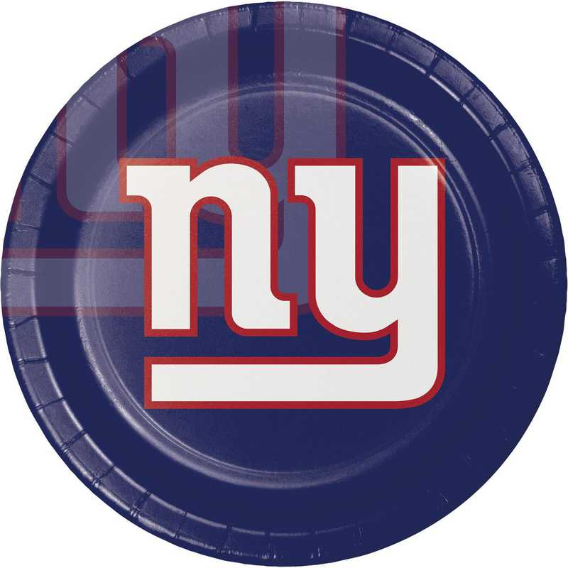 DTC429521DPLT: CC New York Giants Paper Plates