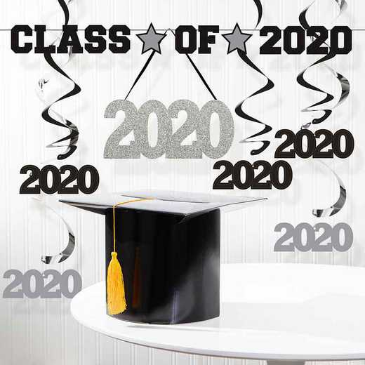 DTCGRAD201A: Class of 2020 Graduation Decorations Kit
