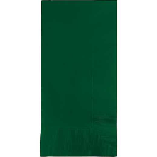 673124B: CC Hunter Green Din Napkins - 50 Cnt