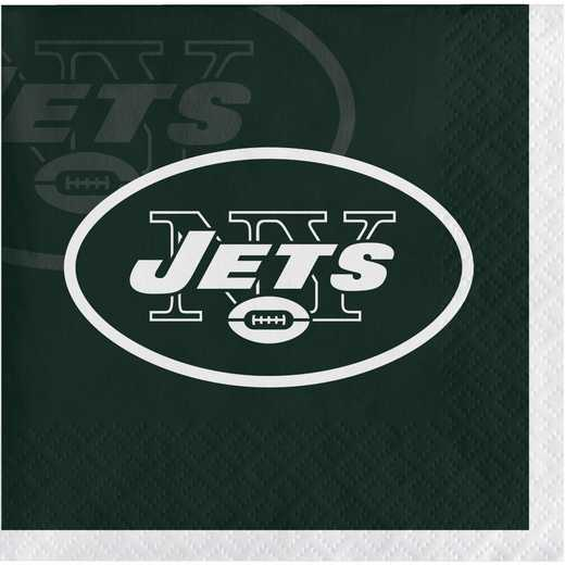 DTC659522BNAP: CC New York Jets Beverage Napkins