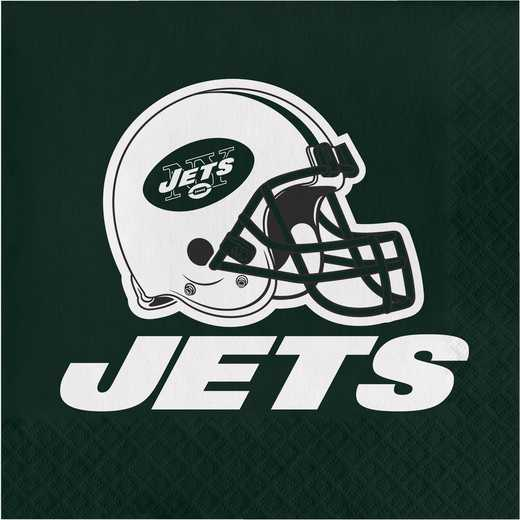 DTC669522NAP: CC New York Jets Napkins