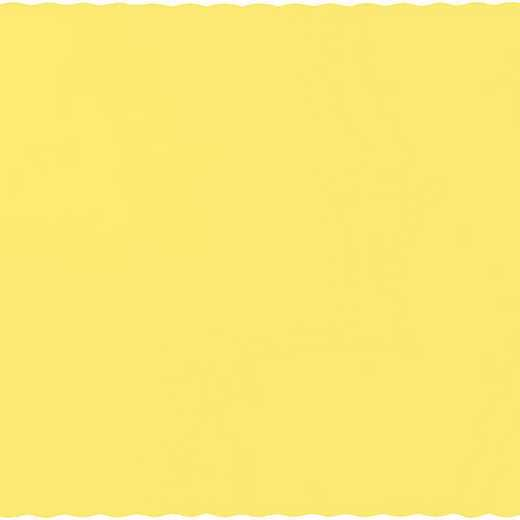 863266B: CC Mimosa Yellow Placemats - 50 Cnt