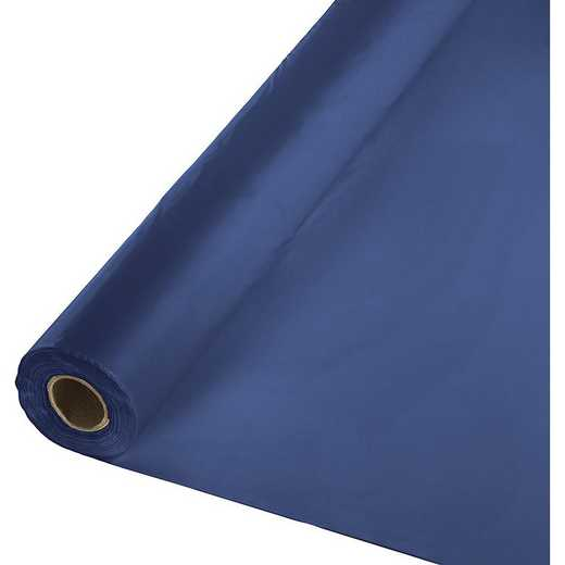 011137: CC Navy Blue Plastic Banq Roll -100'