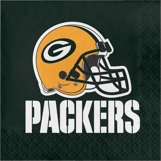 DTC669512NAP: CC Green Bay Packers Napkins