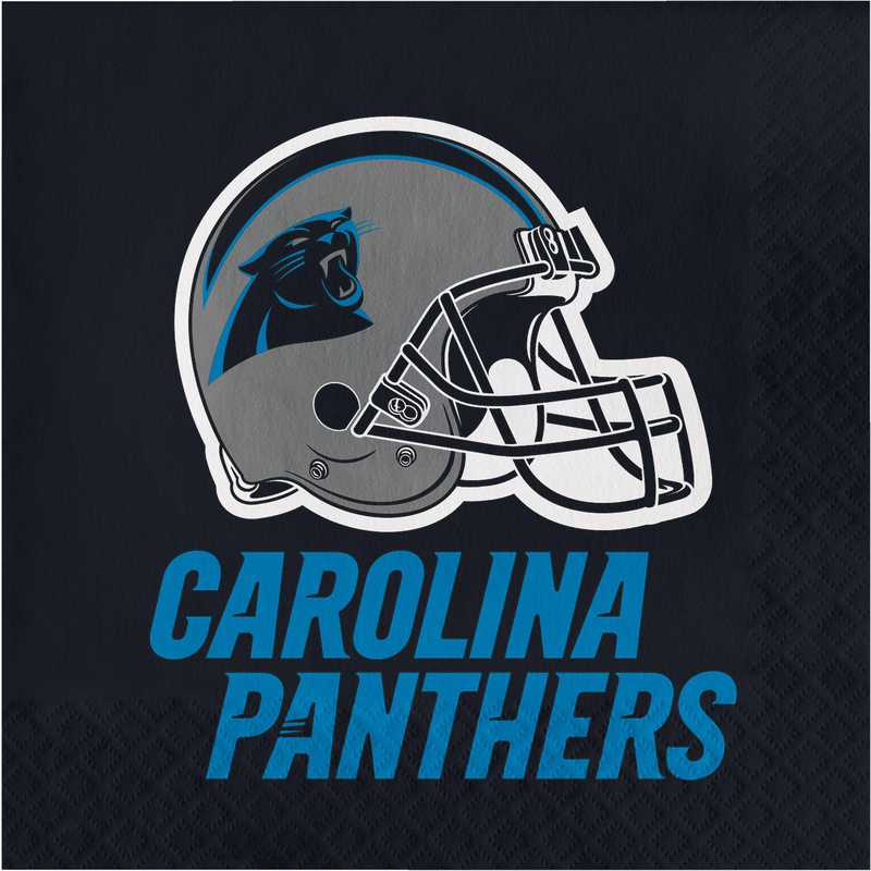 DTC669505NAP: CC Carolina Panther Napkins