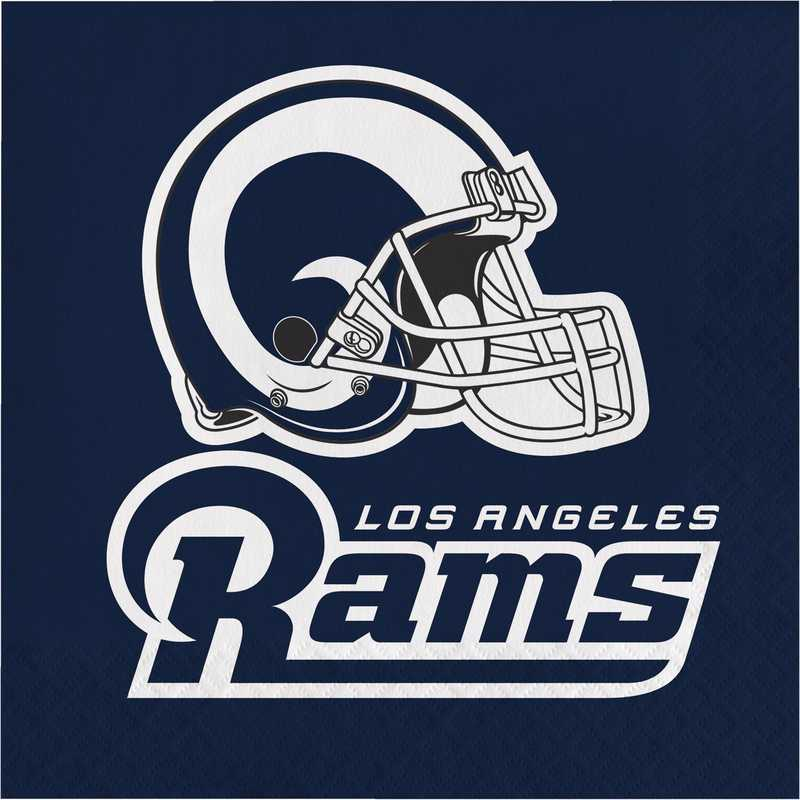 DTC335914NAP: CC Los Angeles Rams Napkins