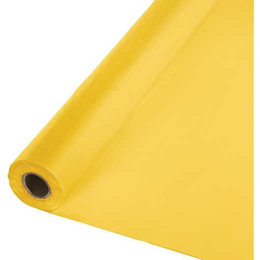 010217: CC SB Yellow Plastic Banq Roll -100'