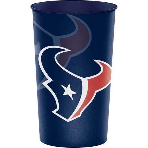 DTC119513TUMB: CC Houston Texans Souvenir Cups