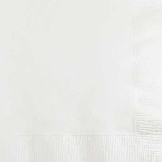 259000: CC White Beverage Napkins - 200 Cnt