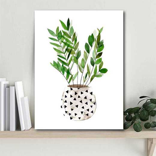 Plant in a Pot III Gallery-Wrapped Canvas Wall Art