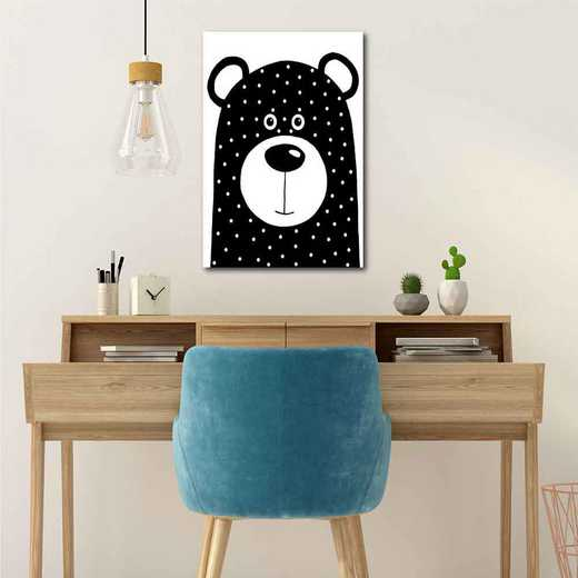 Bean Bear Gallery-Wrapped Canvas Wall Art