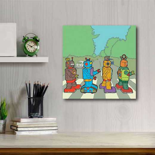 Rock'em sock'em Abby Road  Gallery-Wrapped Canvas Wall Art