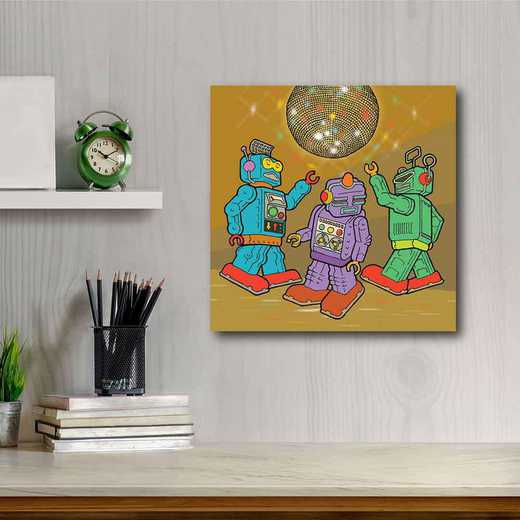 Rock'em sock'em Disco  Gallery-Wrapped Canvas Wall Art