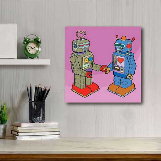 Rock'em sock'em Friendship  Gallery-Wrapped Canvas Wall Art