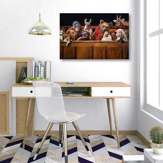 We The Jury  Gallery-Wrapped Canvas Wall Art