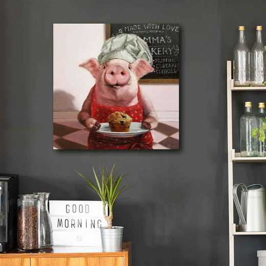 Pinkies Bakery  Gallery-Wrapped Canvas Wall Art