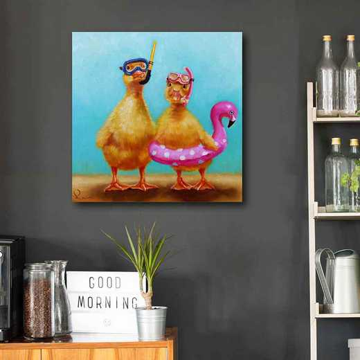 Pool Party  Gallery-Wrapped Canvas Wall Art