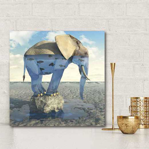 Drinking Problem  Gallery-Wrapped Canvas Wall Art
