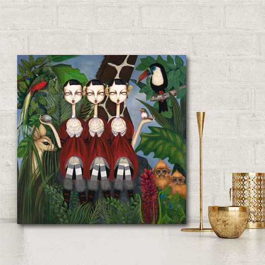 The Gathering  Gallery-Wrapped Canvas Wall Art